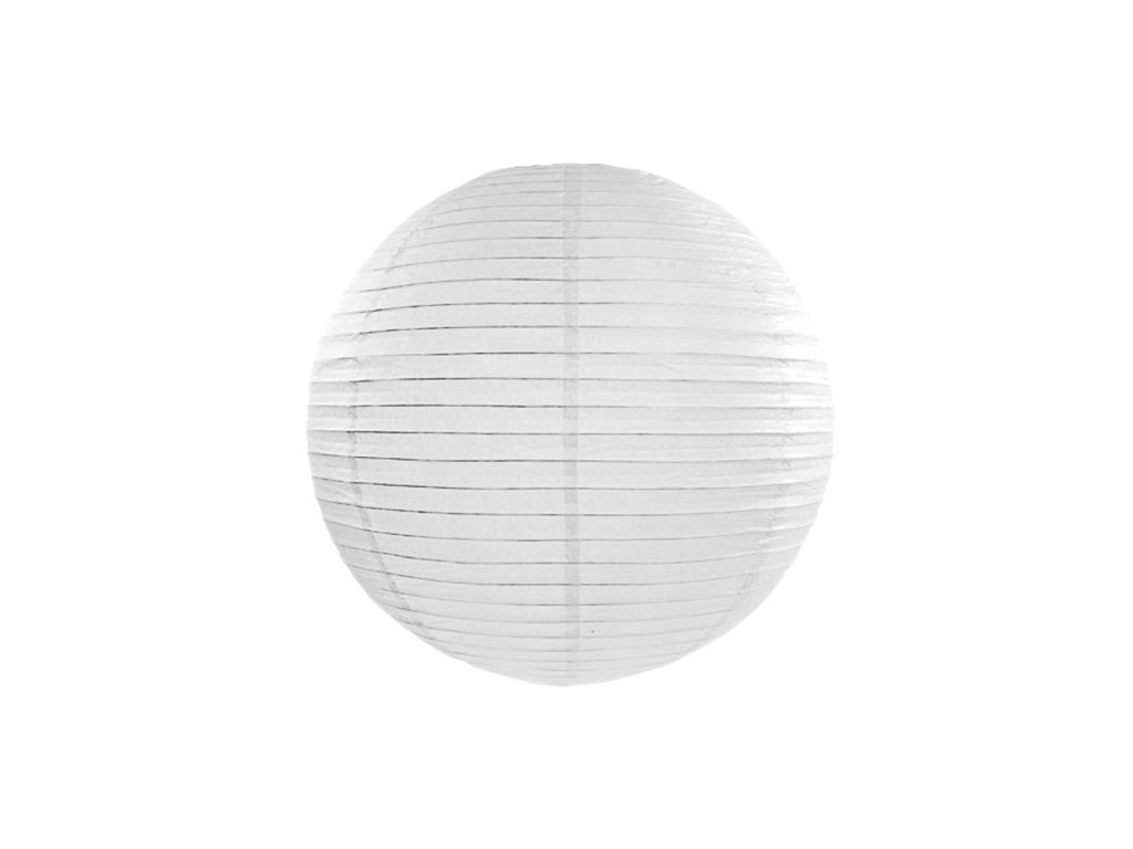 lampion bily 20cm LAP20 008 01