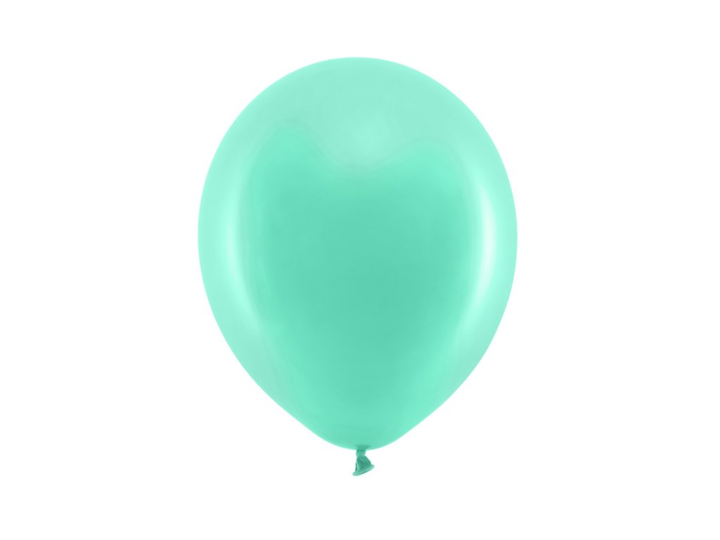balonek mintovy pastel 23cm RB23P 103 01