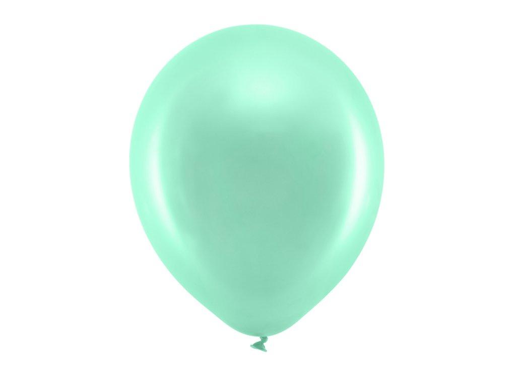 balonek metalicky mintovy 30cm RB30M 103