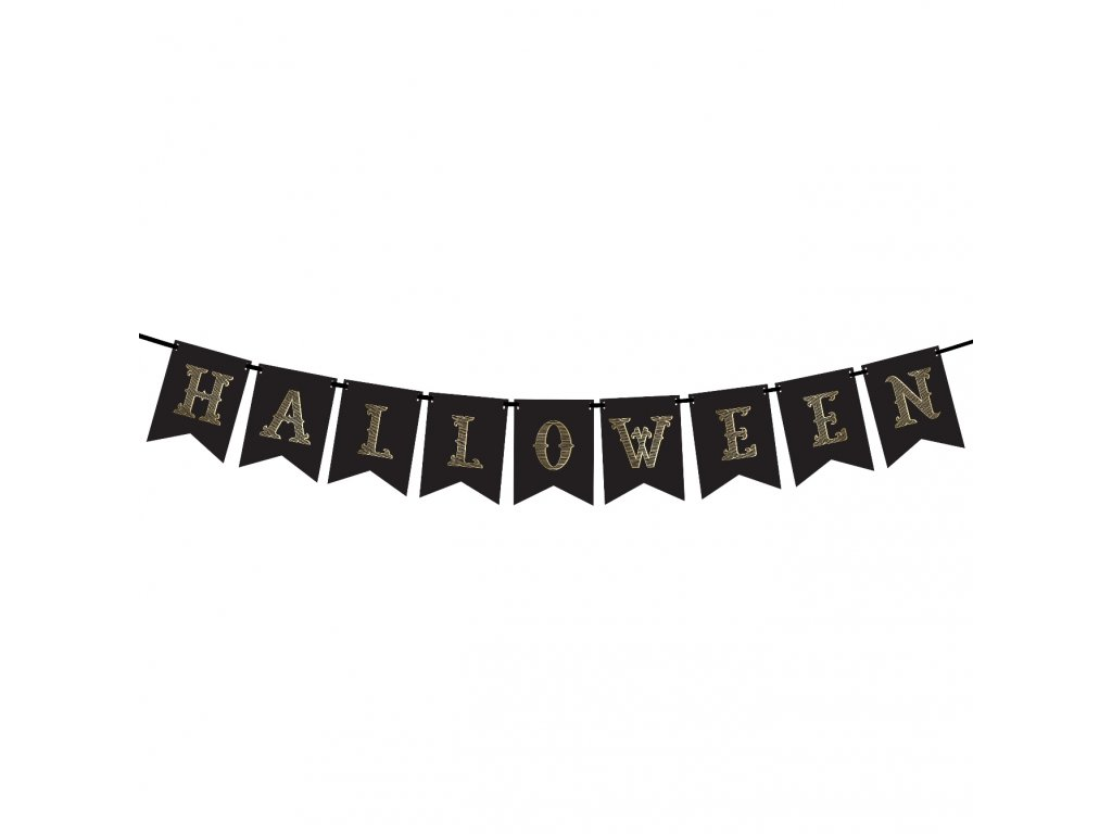 banner halloween cerny 20x175cm GRL47 01