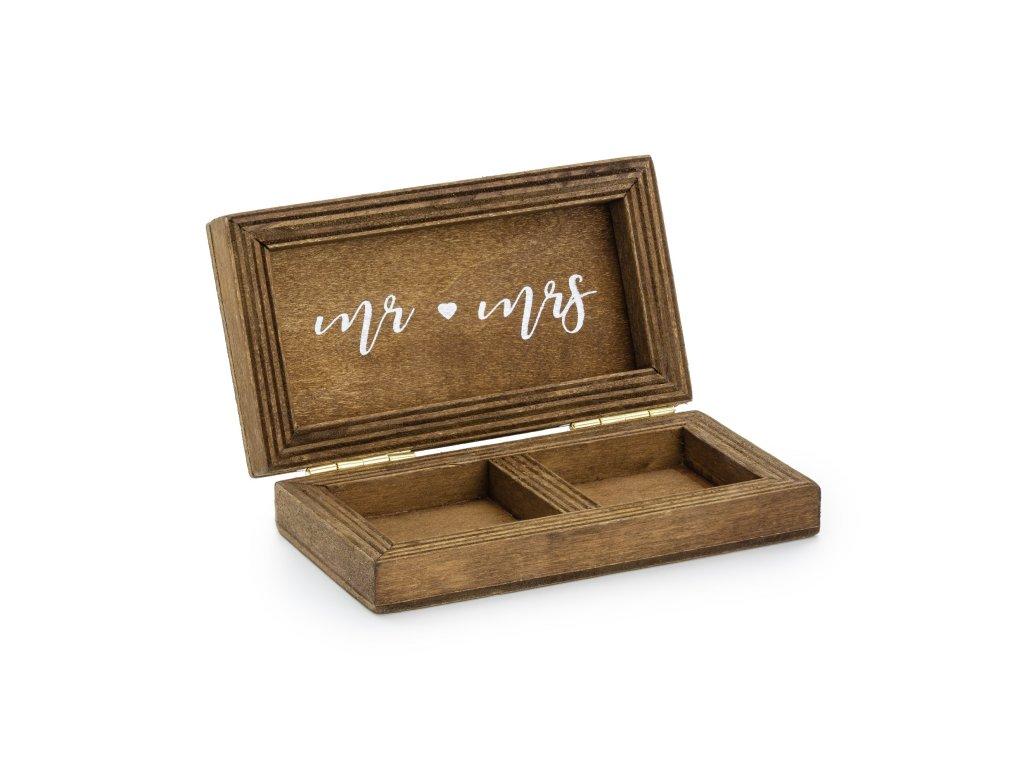 drevena krabicka na prstynky 10x5,5cm PKWD2 01