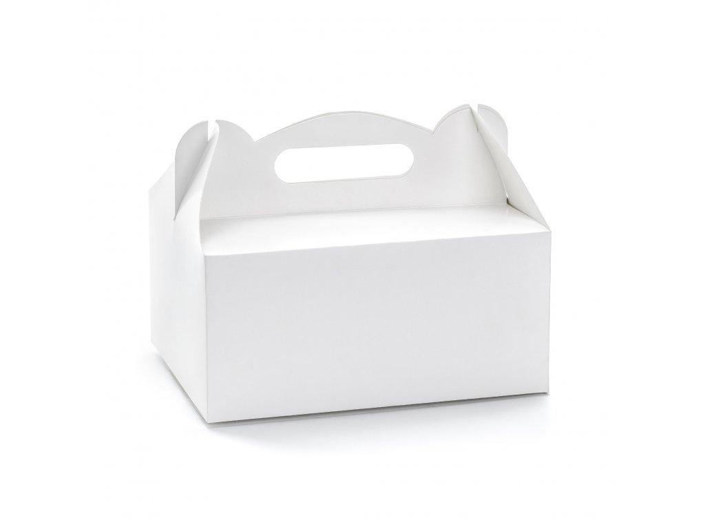 krabicky vysluzka bile 19x14x9cm 10ks PUDCS18 008 01