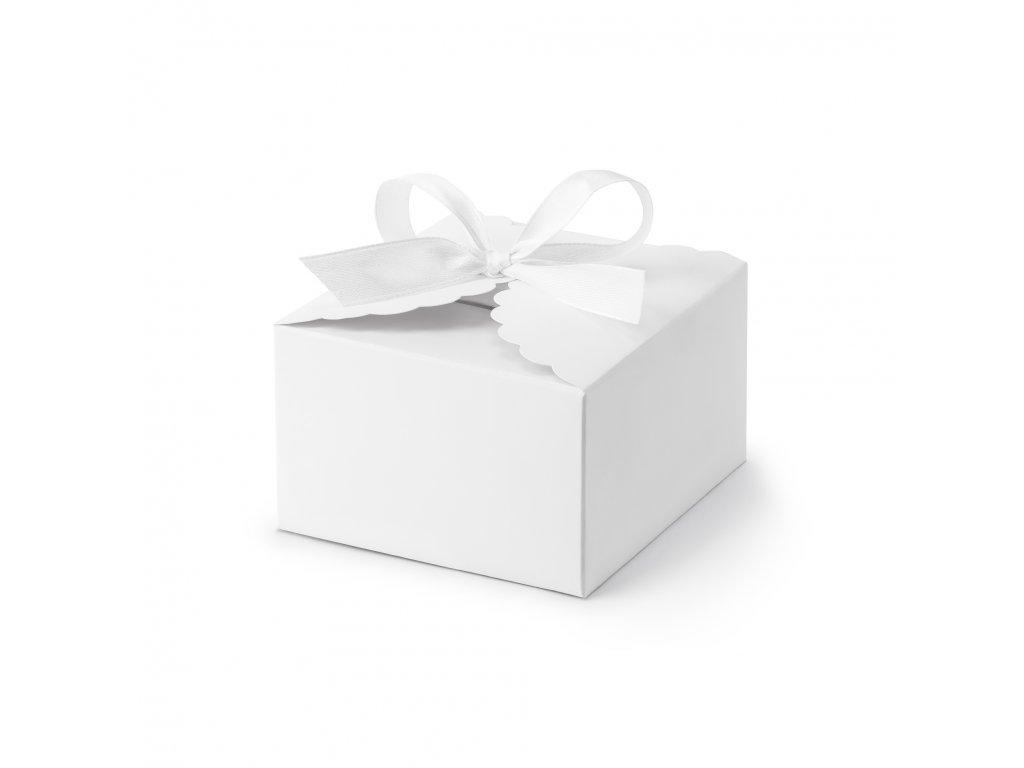 krabicky bile 8x7,5x4,5cm 10ks PUDP42 008 01