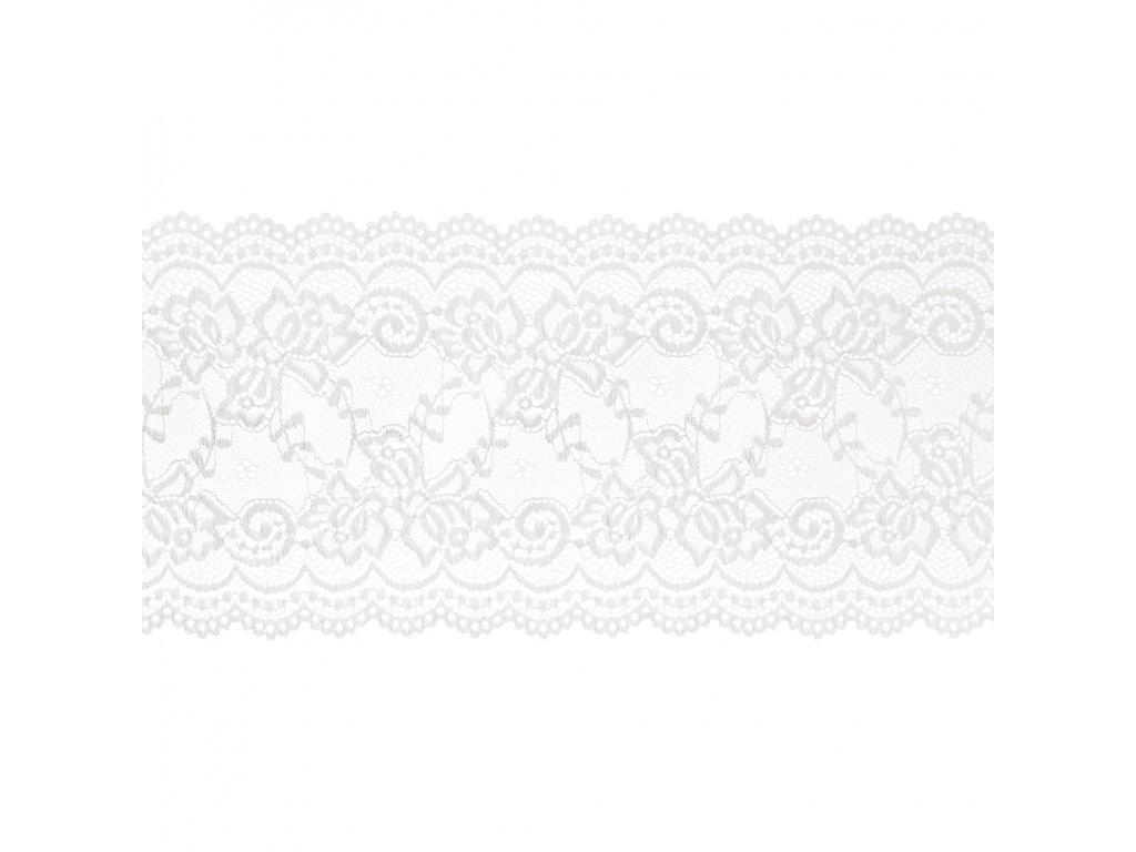 krajka bila ivory 15cmx9m KOR15 008Z 01