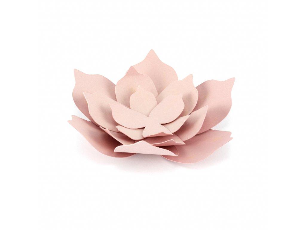 papir kvetiny ruzove 3ks KWDP2 081P 01