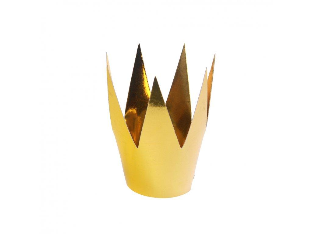korunka zlata 5,5cm 3ks KRN2 019 01