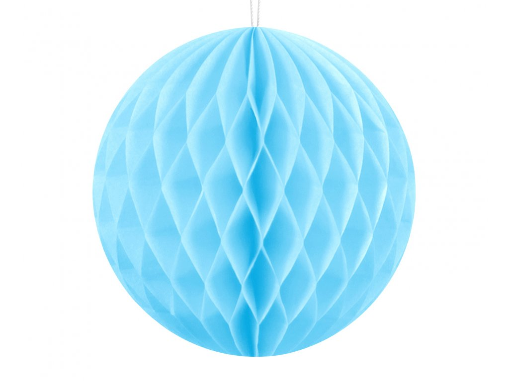 papirova koule neb modra 10cm KB10 011 01