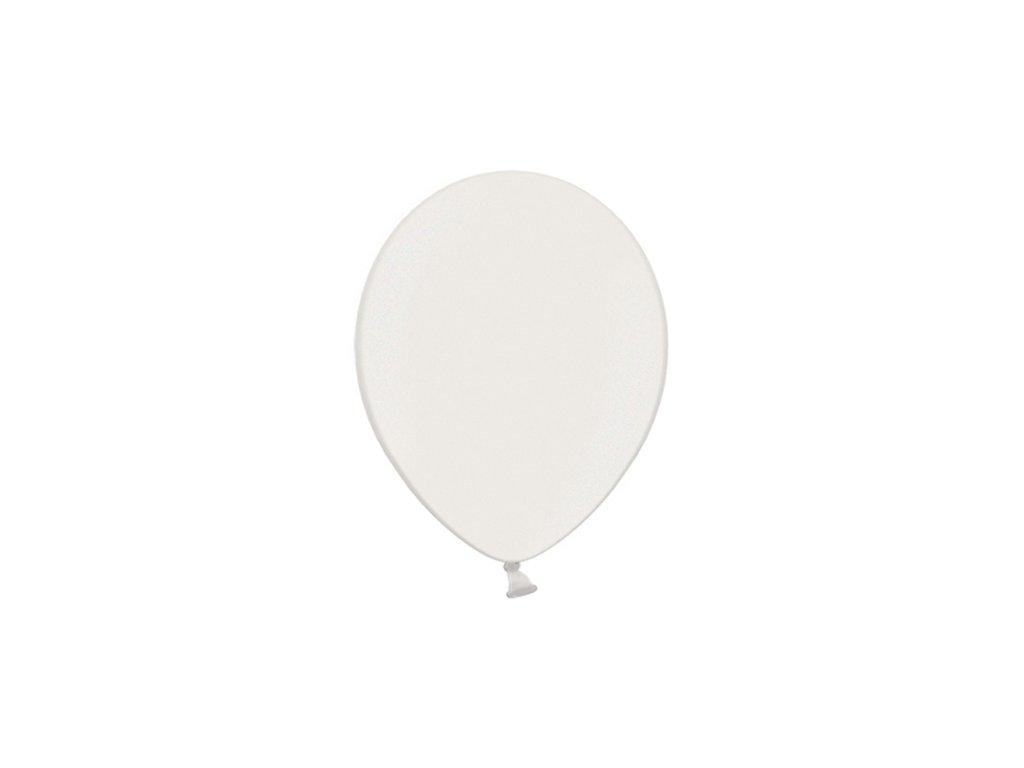 balonek bily metal 25cm CB10M 008 01