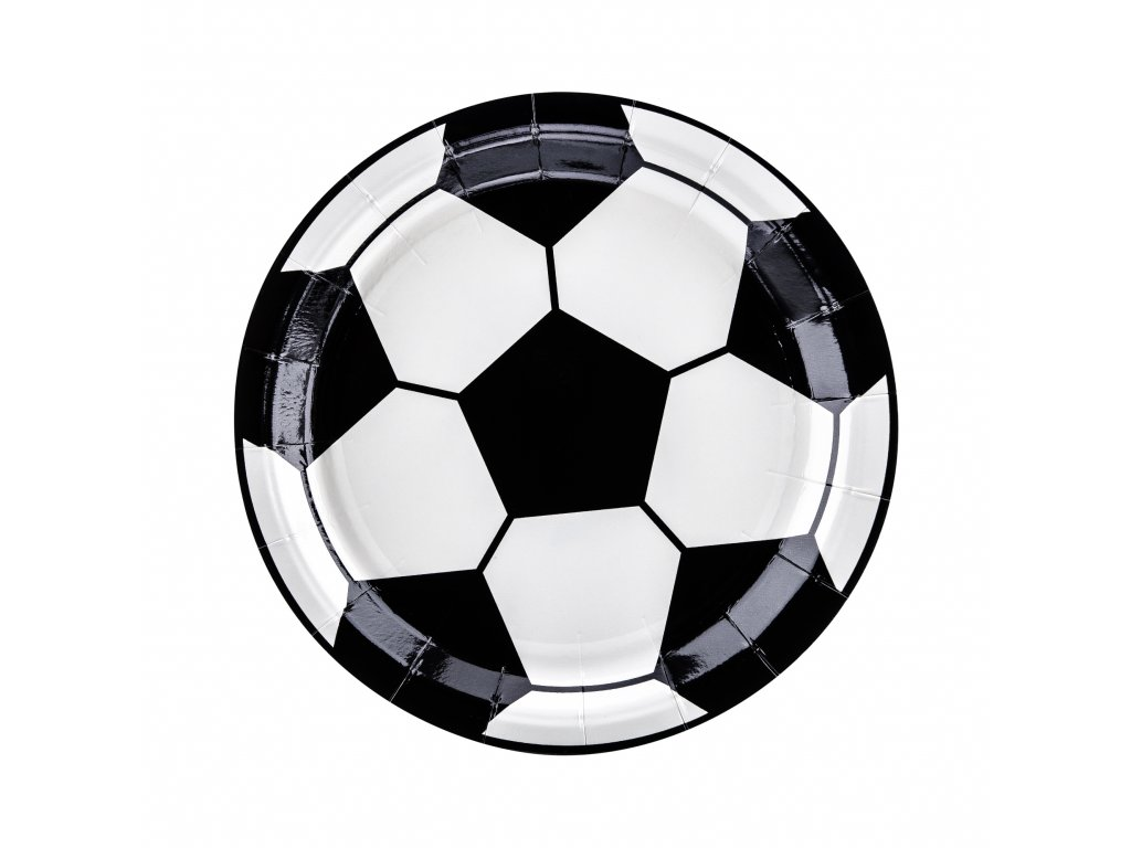 papir talire fotbal 18cm 6ks TPP72 01