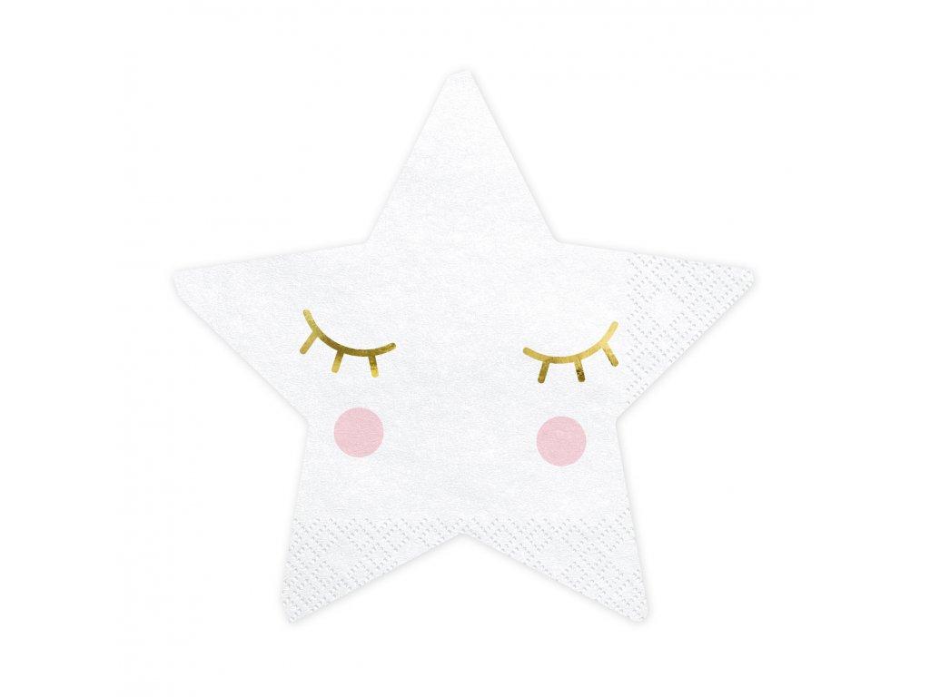 papir ubrousky little star 20ks SPK9 01