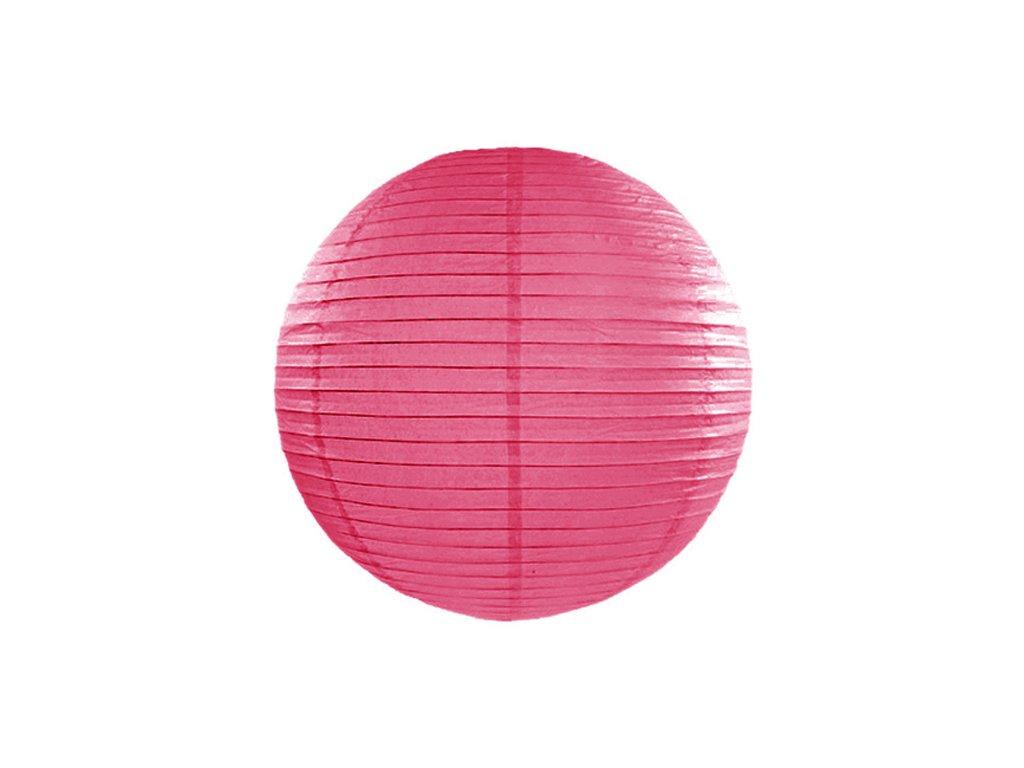 lampion hot pink 20cm LAP20 006 01