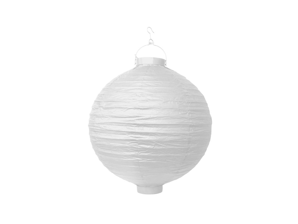 lampion bily s LED 20cm LAO20 008 01