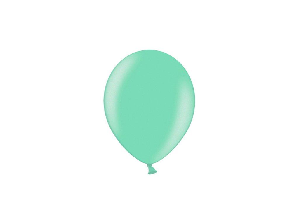 balonek zelená (teal) metal 25cm CB10M 088 01