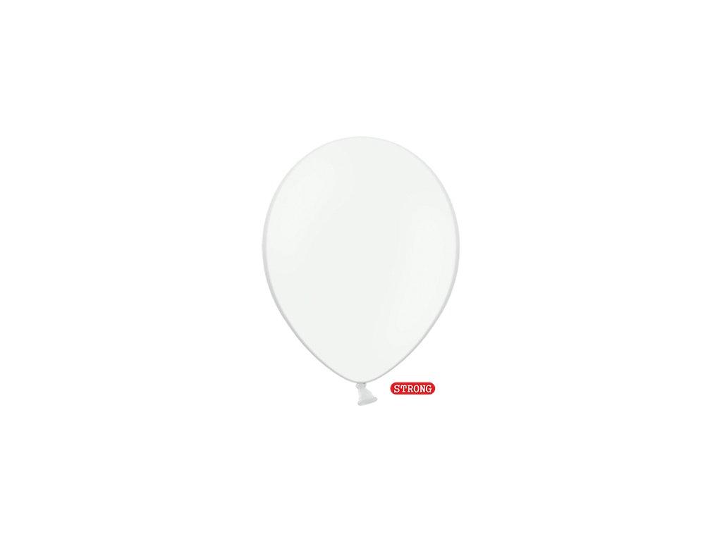 balonek ciste bily pastel strong 12cm SB5P 008 01