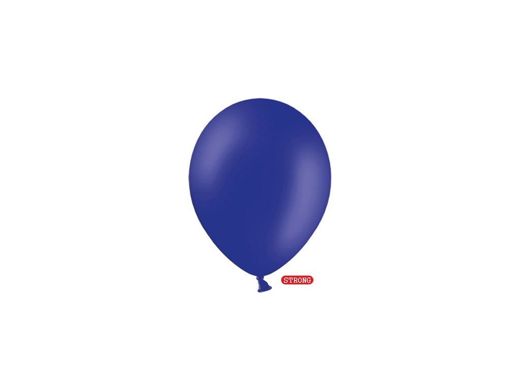 balonek kral modry pastel strong 12cm SB5P 074R 01