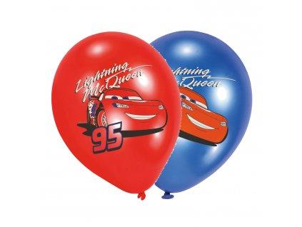 balonky auta mix barev 27,5cm 6ks 999238 01