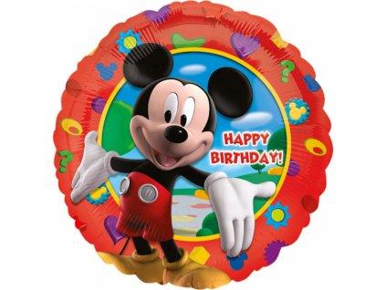 foliovy balonek mickey happy birthday 43cm 14055 01