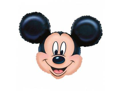 foliovy balonek Mickey Mouse hlava 69x53cm 07764 02