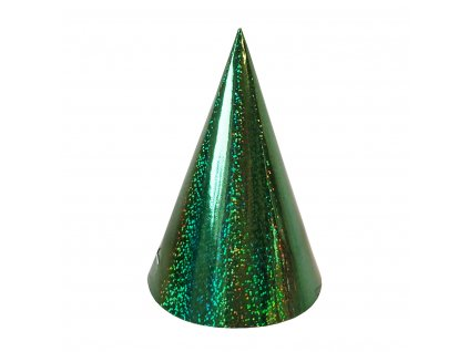 party cepicka zelena holograficka