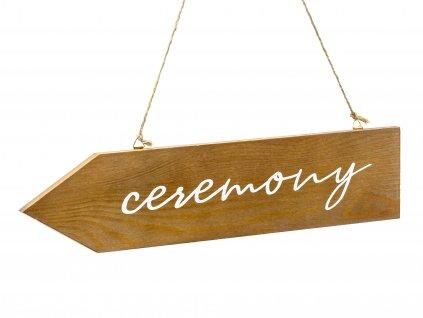 dreveny ukazatel ceremony TDD1 01