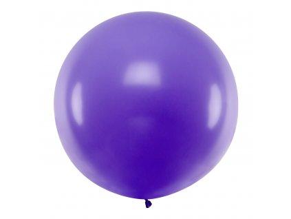 obri balonek pastel fialovy 1m OLBO 009 01 01