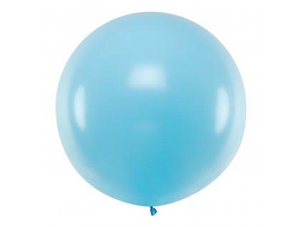 obri balonek pastel sv modry 1m OLBO 001J 01