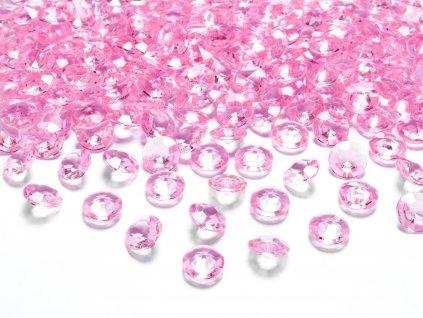 diamanty sv ruzove 12mm 100ks ADC12 081J 01