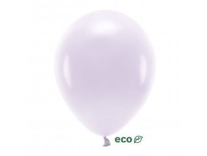 eco balonky pastel svetla lila 30cm 10ks ECO30P 004J 10 01
