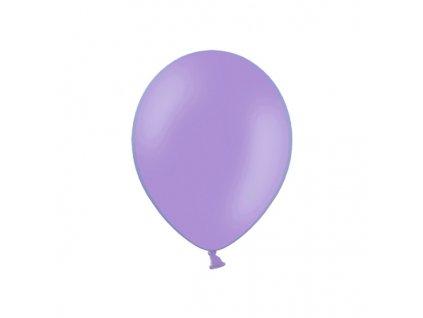 balonek fialovy pastelovy 23cm