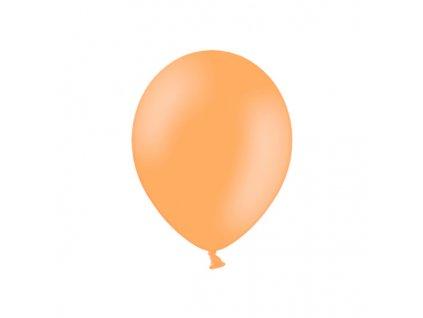 balonek pastelovy broskev 23cm