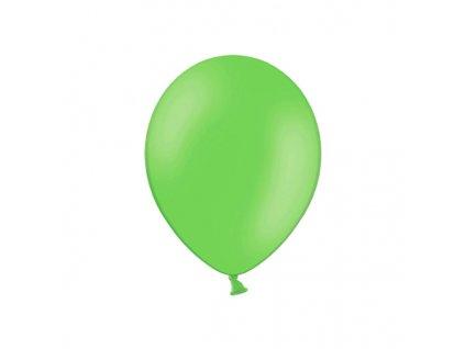 balonek pastelovy zelene jablko 23cm