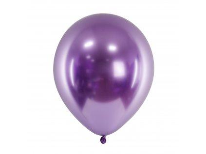 balonek leskly fialovy 30cm 01