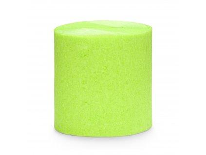 stuha krepakova zelene jablko 5cm 10m KREP1 102J 01
