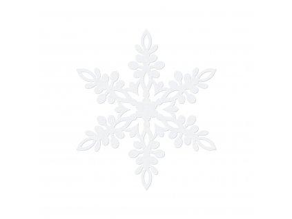 papirova dekorace snehove vlocky 13cm 10ks ZSS2 13 01