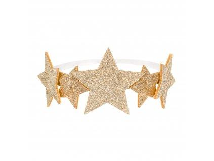 celenka se zlatymi hvezdami STD3 019 01