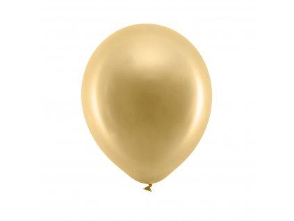 balonek metal zlaty 23cm RB23M 019 01