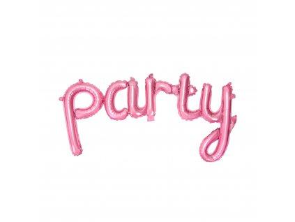 foliove balonky ruzove party pastel FB4P 081 01