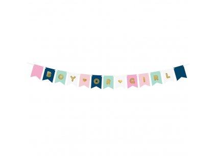 banner boy girl 15x175cm GRL62 01