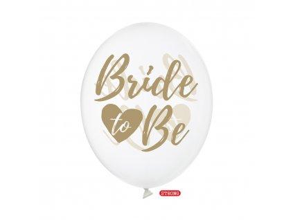 balonek ciry bride to be pastel strong 30cm SB14C 205 099G 01