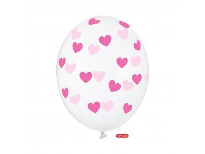 balonek kristal ciste ruzove srdce strong SB14C 228 099M 01