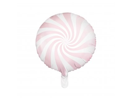 foliovy balonek sv ruzovy bonbon pastel 45cm FB20P 081J 01