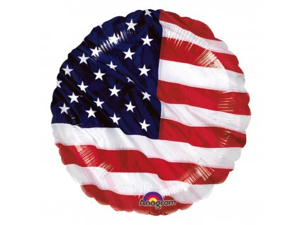foliovy balonek vlajka USA 40cm S40 115228 01 01
