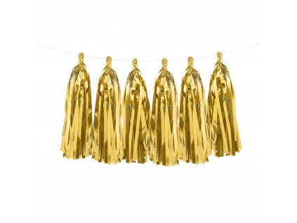 girlanda trasne zlata TG1 019M 01