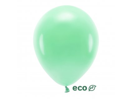 eco balonky pastel mint 30cm 10ks ECO30P 103 10 01