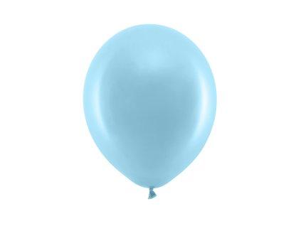 balonek svetle modry pastel 23cm RB23P 001J 01
