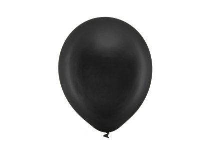 balonek metalicky cerny 23cm RB23M 010