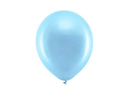balonek metalicky modry 23cm RB23M 001