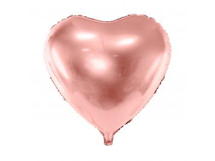 foliovy balonek ruzovo zlaty 45cm FB9M 019R 01
