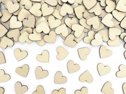 drevene konfety srdce KONS2 100 01