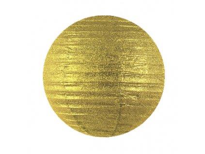 lampion zlaty trpit 25cm LAPB25 019 01